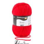 Lana BRAVO Originals - 08221-rosso-fuoco