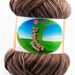 Cotone PRIMAVERA Sfumato - 104-marrone-sfumato