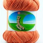 Cotone PRIMAVERA Sfumato - 105-arancio-sfumato