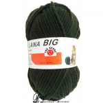 Lana LANA BIG - tl2-1619-verde-militare