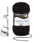 Cotone CATANIA FINE - 01001-nero