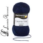 Cotone CATANIA FINE - 01013-blu-marino