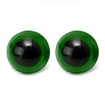 OCCHI di Sicurezza PER AMIGURUMI - occhi-verdi-10-mm