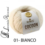 Lana DMC Cocoon Chic - 01-bianco