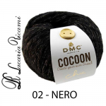 Lana DMC Cocoon Chic - 02-nero