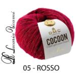 Lana DMC Cocoon Chic - 05-rosso