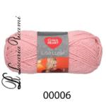 Lana LISA LUREX - 00006-rosa