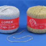 FILATO CATENELLA LUREX - 1-argento