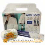 KIT Giacca Mosaico - Miss Tricot Filati - total-white